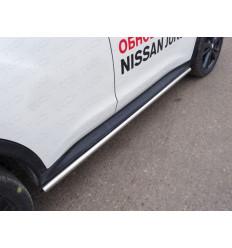 Пороги труба на Nissan Juke NISJUK2WD14-08