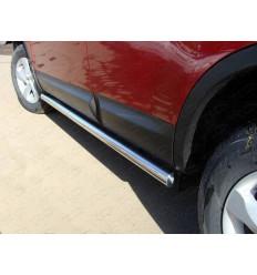 Пороги труба на Nissan Qashqai NISQASH10-03