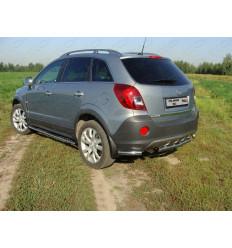 Защита задняя (уголки) 6на Opel Antara OPANT12-08