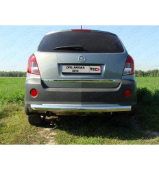 Защита задняя центральная (овальная) на Opel Antara OPANT12-06