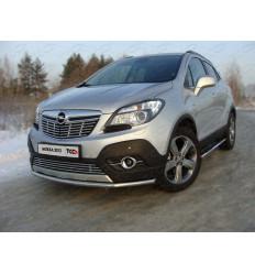 Защита передняя нижняя на Opel Mokka OPMOK4WDT12-01