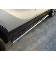 Пороги овальные с проступью на Opel Mokka OPMOK4WDT12-03