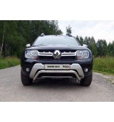 Защита передняя (кенгурин) на Renault Duster RENDUST15-01