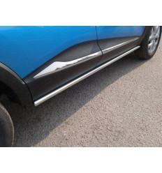Пороги труба на Renault Kaptur RENKAP16-22