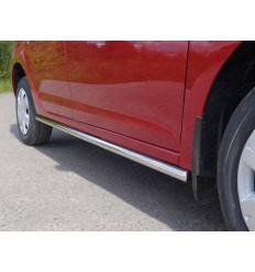 Пороги труба на Renault Logan RENLOG15-05