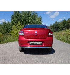 Защита задняя на Renault Logan RENLOG15-06