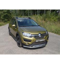Защита передняя нижняя на Renault Sandero RENSANST15-02