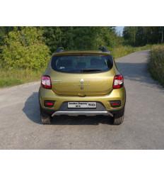 Защита задняя на Renault Sandero RENSANST15-12