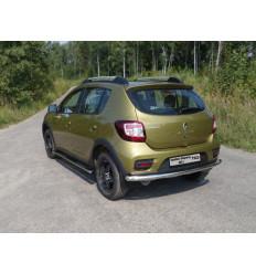 Защита задняя на Renault Sandero RENSANST15-13