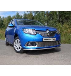 Защита передняя нижняя на Renault Sandero RENSAN15-01