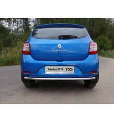 Защита задняя нижняя на Renault Sandero RENSAN15-06