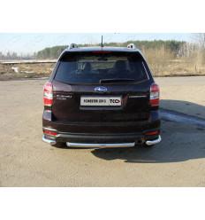 Защита задняя (центральная) на Subaru Forester SUBFOR13-15