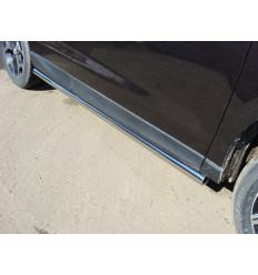Пороги труба на Subaru Forester SUBFOR16-14