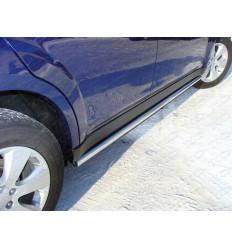 Пороги труба на Subaru Outback SUBOUT10-02