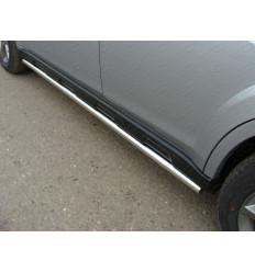 Пороги труба на Subaru Outback SUBOUT14-03