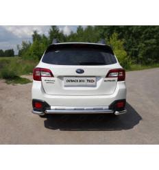 Защита задняя на Subaru Outback SUBOUT15-13
