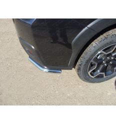 Защита задняя (уголки короткие) на Subaru XV SUBXV12-06