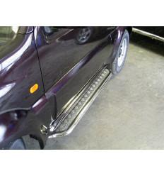 Пороги с площадкой на Suzuki Jimny SUZJIM-01