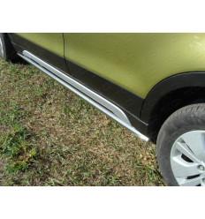 Пороги труба на Suzuki SX4 SUZSX414-07
