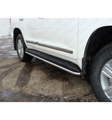 Защита порогов на Toyota Land Cruiser 200 TOYLC20012-03