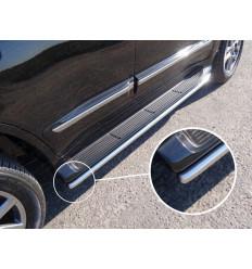 Защита порогов (аналог Lexus LX570) на Toyota Land Cruiser 200 TOYLC20015-12