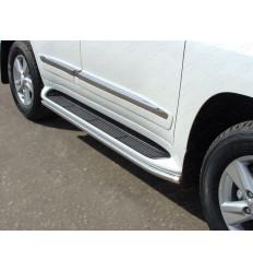 Защита порогов на Toyota Land Cruiser 200 TOYLC20015-23