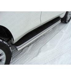 Защита порогов на Toyota Land Cruiser Prado 150 TOYLCPR150-03