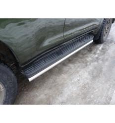 Защита порогов на Toyota Land Cruiser Prado 150 TOYLC15013-08