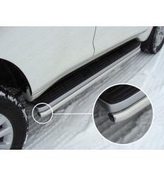 Защита порогов на Toyota Land Cruiser Prado 150 TOYLC15013-10