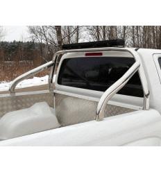 Защитный алюминиевый вкладыш в кузов автомобиля (борт) на Volkswagen Amarok VWAMAR17-06
