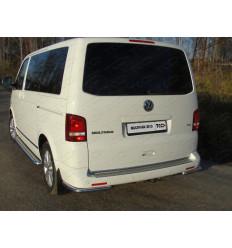 Защита задняя (уголки) на Volkswagen Multivan VWMULT13-14