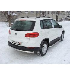 Защита задняя (центральная) на Volkswagen Tiguan VWTIG11-06