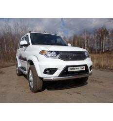 Защита передняя нижняя (овальная) на УАЗ Патриот UAZPATR2015-01