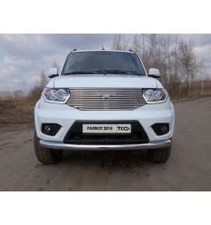 Защита передняя нижняя на УАЗ Патриот UAZPATR2015-02