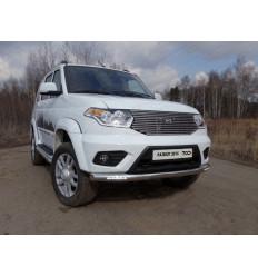 Защита передняя нижняя (с ходовыми огнями) на УАЗ Патриот UAZPATR2015-03