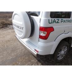 Защита задняя (овальная) на УАЗ Патриот UAZPATR2015-09