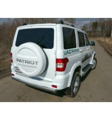 Защита задняя (овальная) на УАЗ Патриот UAZPATR2015-10