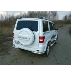 Защита задняя (уголки) на УАЗ Патриот UAZPATR2015-12