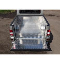 Защитный алюминиевый вкладыш в кузов автомобиля (комплект) на УАЗ Патриот UAZPIC2016-04