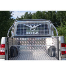 Защитный алюминиевый вкладыш в кузов автомобиля на пластик (дно, борт) на УАЗ Патриот UAZPIC2016-06