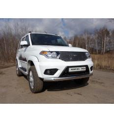Защита передняя нижняя (овальная) на УАЗ Патриот UAZPIC2016-12