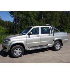 Защита порогов на УАЗ Патриот UAZPIC2016-19
