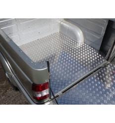 Защитный алюминиевый вкладыш в кузов автомобиля (дно) на УАЗ Патриот UAZPIC2016-33