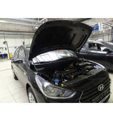 Амортизатор (упор) капота на Hyundai Solaris KU-HY-SL02-00