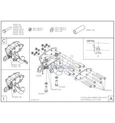 Оцинкованный фаркоп на Toyota Land Cruiser 200 T070C
