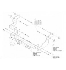 Фаркоп на Ford Tourneo Connect 3964A