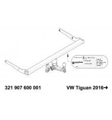 Фаркоп на Volkswagen Tiguan 321907600001
