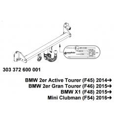 Фаркоп на Mini Clubman Cooper S  303372600001