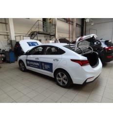 Амортизатор (упор) багажника на Hyundai Solaris AB-HY-SL02-00