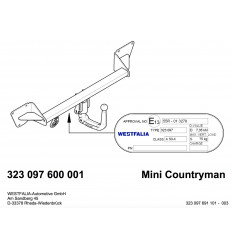 Фаркоп на Mini Countryman 323097600001
